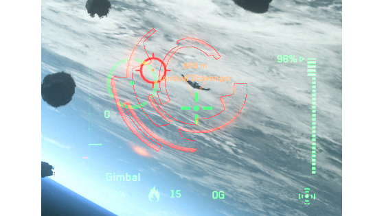 Missile en cours d'acquisition - Star Citizen