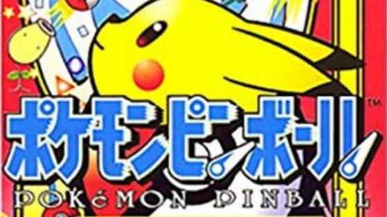 Pokemon Pinball a 20 ans