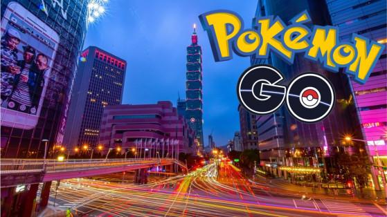 Pokemon GO : proposition Pokéstops, Taiwan