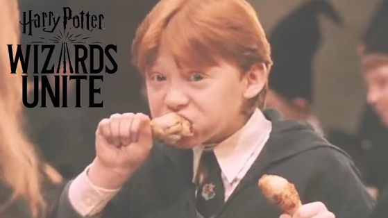 Harry Potter Wizards Unite : Comment restaurer son énergie, plats