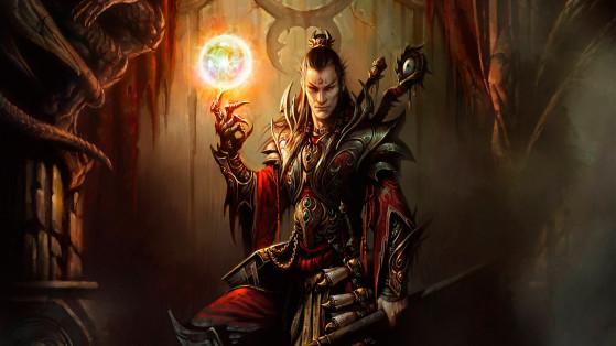 Diablo 3 : Build Sorcier Héritage des cauchemars, hors-set, LoN