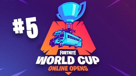 Fortnite World Cup : semaine 5 Solo EU, suivi, classement et résultats