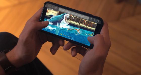 Caregame : cloud gaming pour smartphone, présentation, IOS, android
