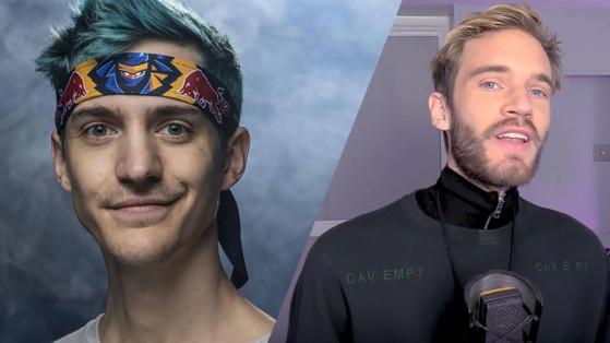Fortnite : Ninja et Pewdiepie signent un live historique
