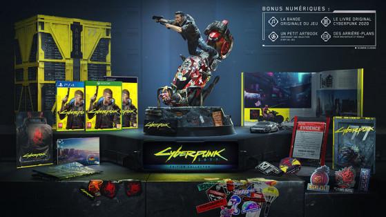 Cyberpunk 2077 : édition collector, précommande, contenu, unboxing