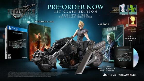 Final Fantasy 7 Remake : édition collector, prix, bonus de précommande