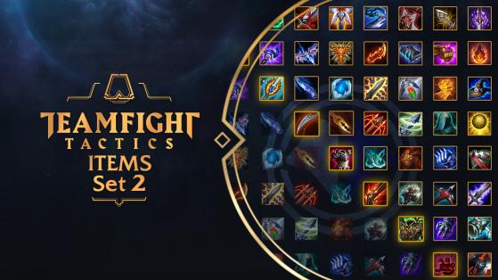 LoL : items, objets, cheat sheet TFT, Combat Tactique, Teamfight Tactics
