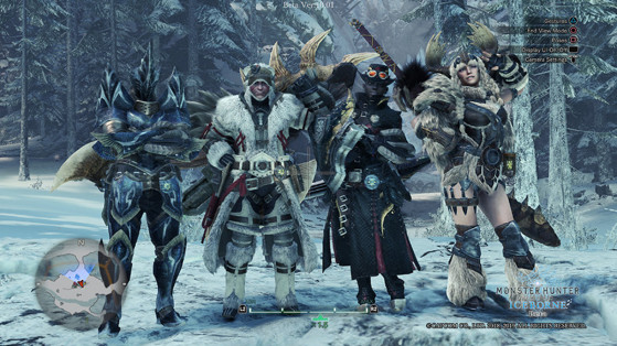 Monster Hunter World Iceborne : Mode photo
