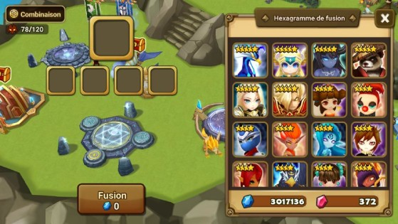 Choix de fusion - Summoners War