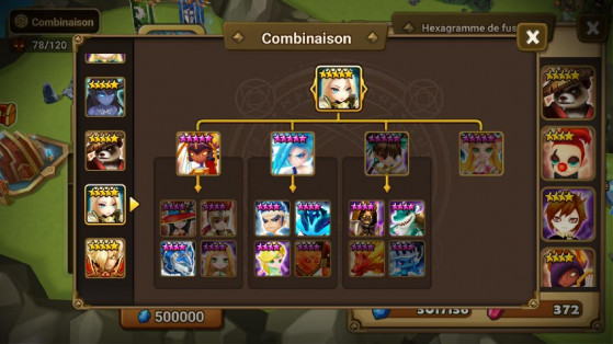 Fusion Jeanne - Summoners War
