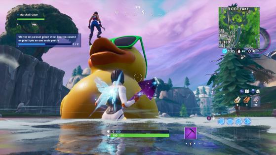 Le canard en plastique - Fortnite : Battle royale