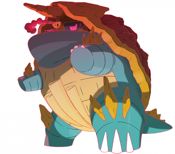 Torgamord Gigamaxer - Pokémon Épée et Bouclier