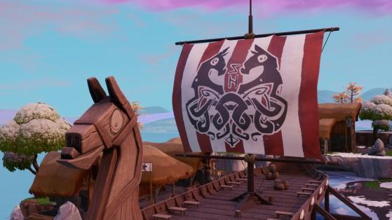 Fortnite : collecter du bois sur un bateau pirate ou un drakkar
