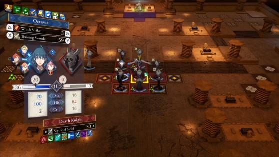 Essayez de tenir compte des liens de soutien entre personnages. - Fire Emblem Three Houses