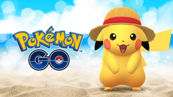 Pokemon GO : Pikachu, One Piece, chapeau de paille, event