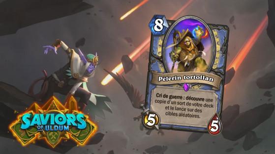 Hearthstone Aventuriers d'Uldum : Pélerin tortollan (Tortollan Pilgrim)