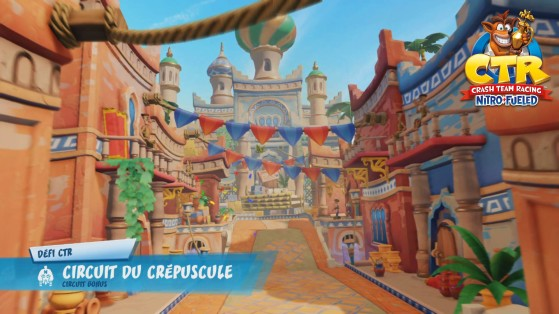 Défi CTR - Circuit du Crépuscule : guide Crash Team Racing Nitro-Fueled
