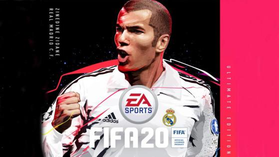 FIFA 20 : Zinedine Zidane intègre le casting des icônes pour FUT