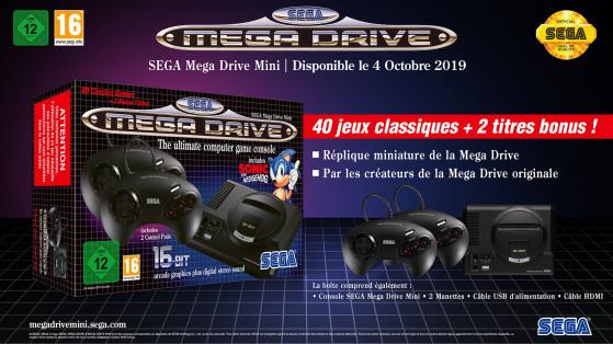 Preview de la Mega Drive Mini : infos, jeux, prix, date de sortie