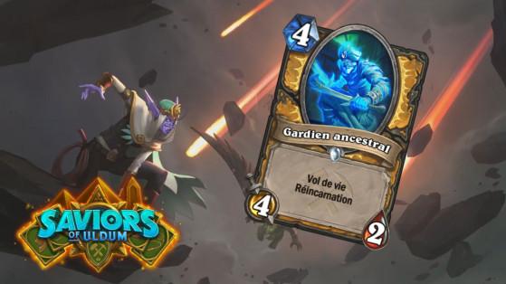 Hearthstone Aventuriers d'Uldum : Gardien ancestral (Ancestral Guardian)