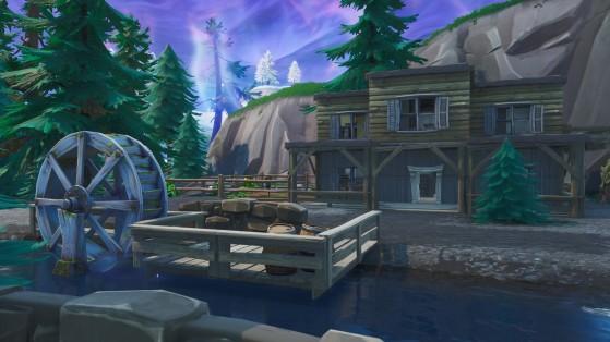 Fortnite : construire dans Tilted Town