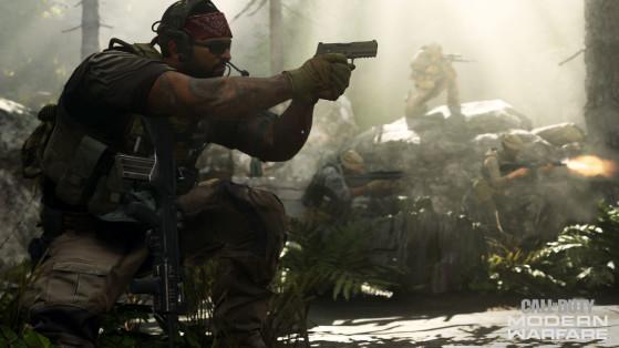 Call of Duty Modern Warfare : customisation en mode multijoueur