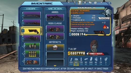 L'équipement bien sympa - Millenium