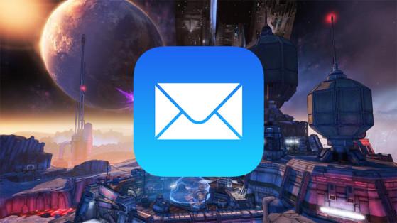 Boite aux lettres Borderlands 3 : Accéder au courrier