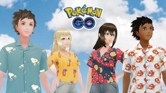 Pokemon GO : nouveaux T-shirt disponibles dans la Boutique