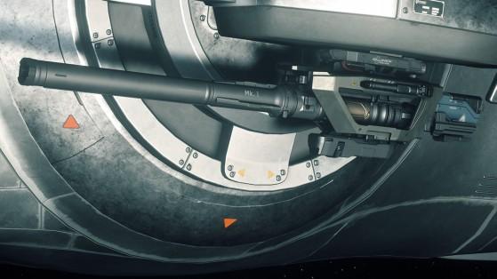 Star Citizen : Arme Tarantula GT-870 Mark 1