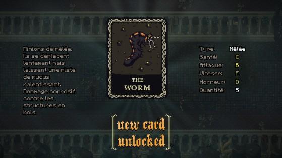 Carte de l'unité Worm - Millenium