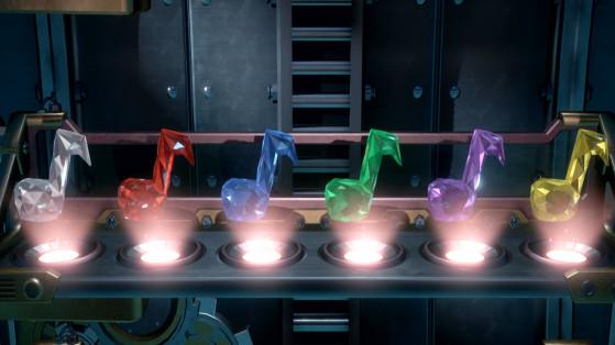 Gemmes Luigi's Mansion 3, soluce : étage 4, salle de concert