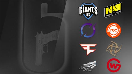 Rainbow Six - Pro League Finals S10 : Guide des équipes