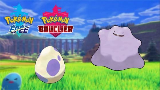 Pokemon Epee, Bouclier : Trouver et Capturer un Métamorph