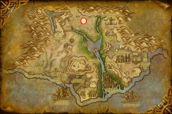Localisation de Vuk'laz le Brise-Terre - World of Warcraft