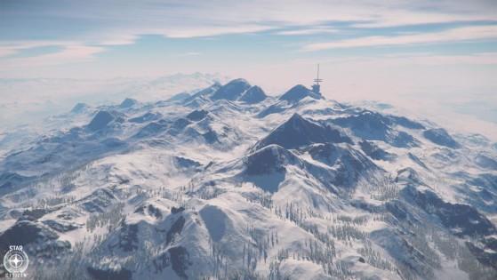 Montagnes de Microtech - Star Citizen