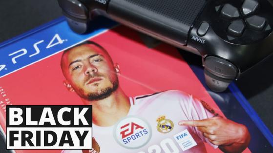 Black Friday 2019 : Pack FIFA 20 PS4 + manette + points FUT à -30 %