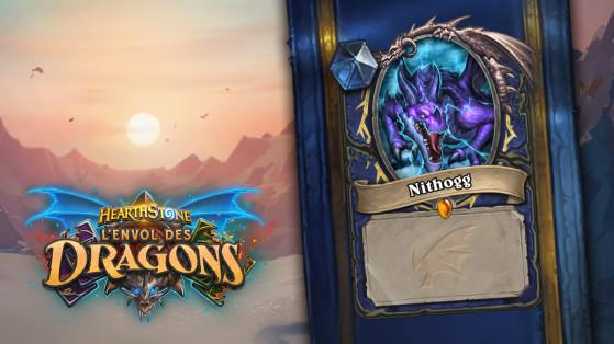 Hearthstone Envol des Dragons : Nithogg, carte exclusive Millenium