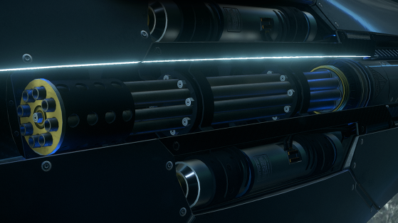 Star Citizen : Arme Tigerstrike T-19P