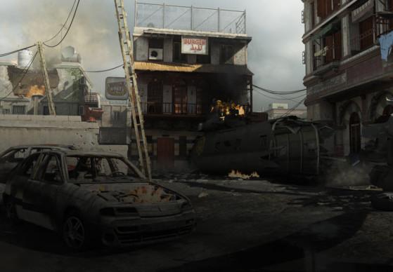 Crash - Call of Duty : Modern Warfare