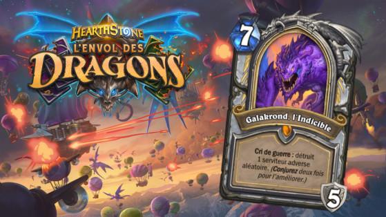 Hearthstone Envol des Dragons : nouveau héros légendaire Prêtre Galakrond, l'Indicible