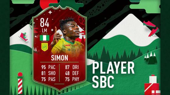 FIFA 20 : Moses Simon FUTMAS, solution du DCE