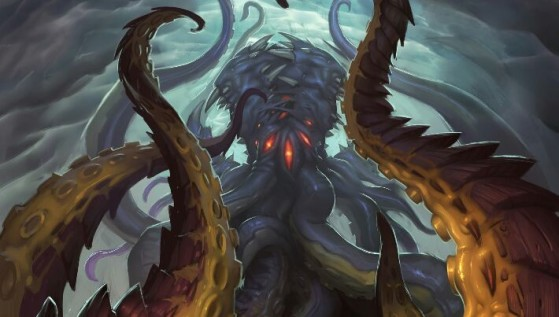 N'Zoth et ses tentacules - World of Warcraft