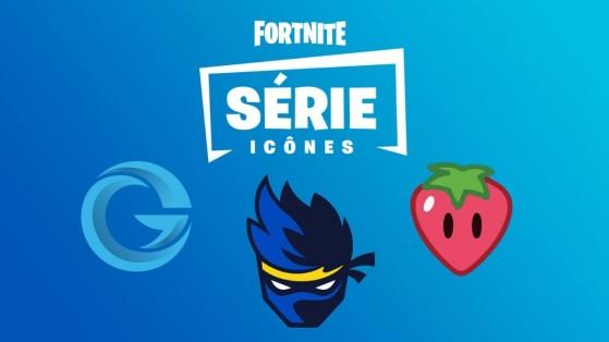 Fortnite : série icônes, skins et cosmétiques autour de stars