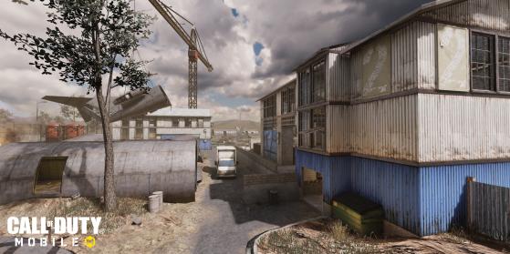 Nouvelle carte : Scrapyard - Call of Duty