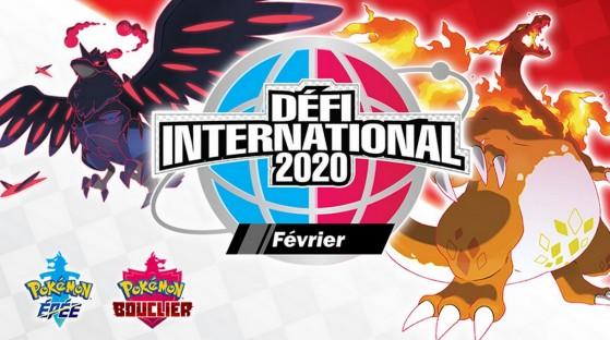 Pokemon Épée et Bouclier, défi international, compétition de février