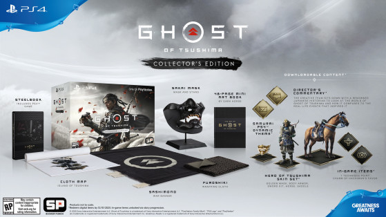 Collector's Edition - Ghost of Tsushima