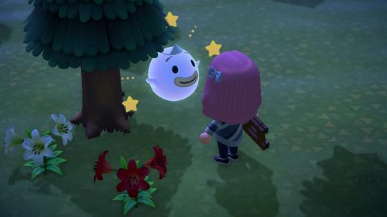 Animal Crossing New Horizons : retrouver les esprits de Follet le fantôme