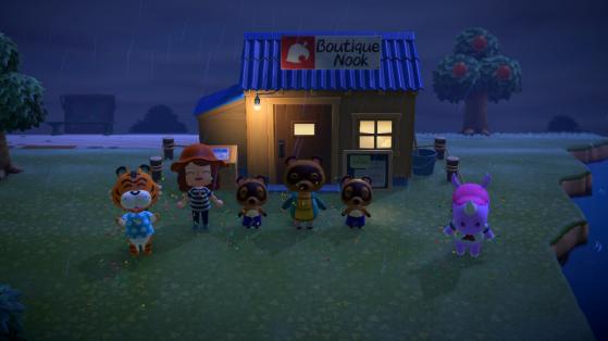 Animal Crossing New Horizons : débloquer la boutique Nook