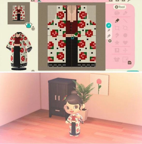 Création de KbladeAngel sur Reddit - Animal Crossing New Horizons